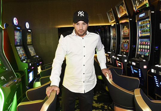 Sámer Issa na otevření kasina