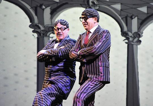 Bob Klepl a Jan Kraus bavili diváky v rolích rádců X a Y.