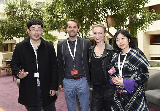 Čeští herci začínají být u čínského publika velmi populární.