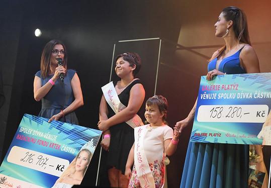 Pro onkologicky nemocné děti, o něž se stará nadace Krtek, bylo vybráno přes čtvrt miliónu korun.