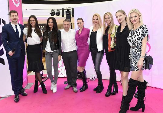 Tereza na castingu České Miss