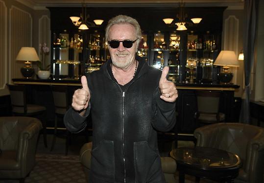 Umberto Tozzi byl další zahraniční hvězdou na karlovarském filmovém festivalu.
