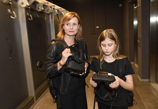 Sofie je podobná mamince, ale i tatínkovi Davidovi Švehlíkovi.