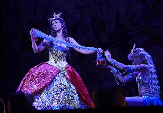Monika Sommerová jako Christine ve Fantomovi opery