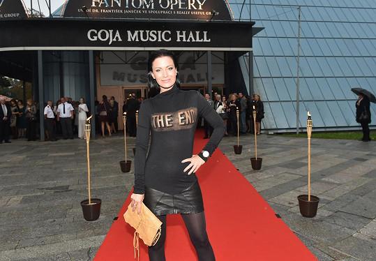 Gábina Partyšová tentokrát předvedla módní nevkus.