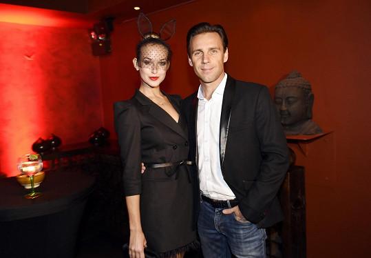 Petra s přítem Romanem Vojtkem