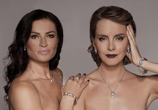 V kampani zastupuje zralejší ženy Hanka Kynychová a svěží mládí Gabriela Lašková.