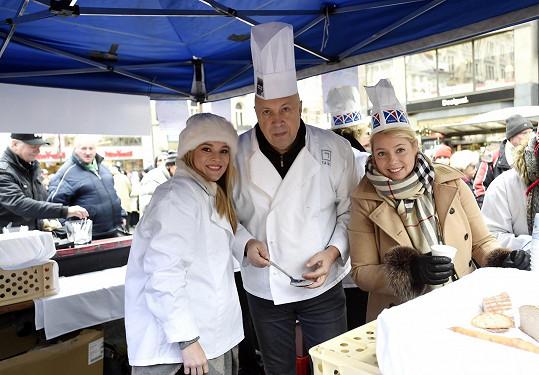 S Michaelou Gemrotovou a starostou Prahy 1 Oldřichem Lomeckým