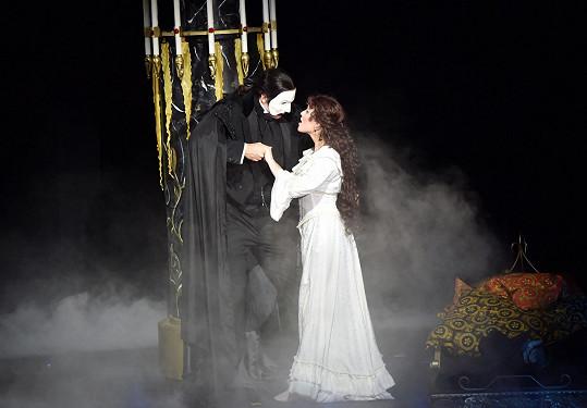 Marian i Míša se těší na Fantoma opery.