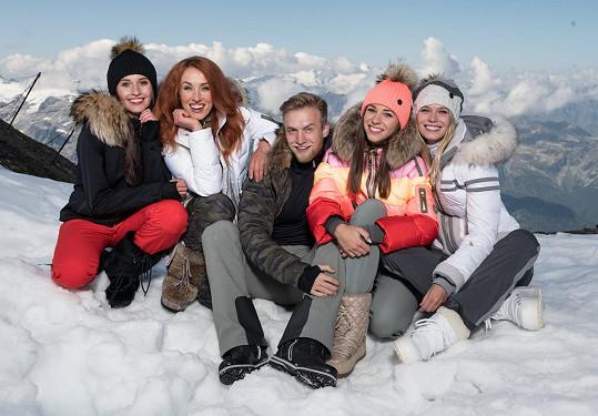 S vítězkami a vítězem loňského ročníku fotili v rakouském Kaprunu.