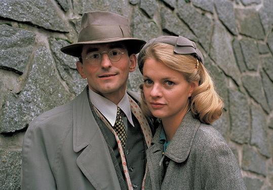 S Ondřejem Vetchým v televizním seriálu Případy detektivní kanceláře Ostrozrak (2000)