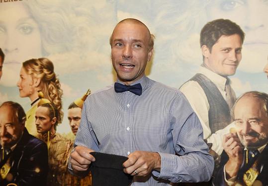 Václav Neužil se změnil kvůli roli Emila Zátopka k nepoznání.