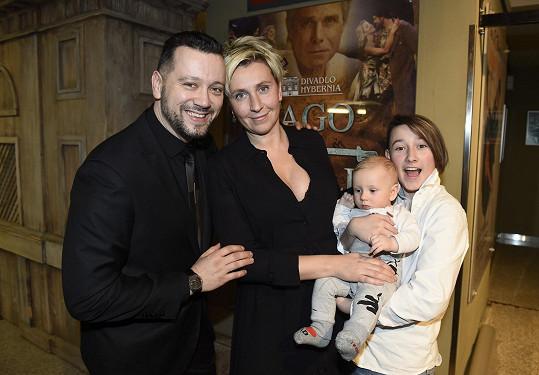 Slavnostní uvedení Galilea si nenechal ujít ani Michal Kavalčík s rodinou.