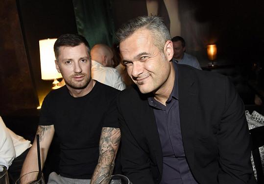 Jaro Slávik s moderátorem Petrem Vágnerem