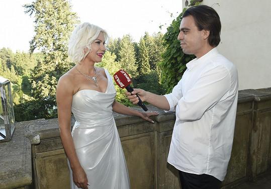 Natali během rozhovoru pro Super.cz