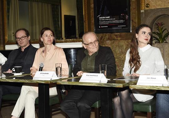 Klára Trojanová s režisérem Jiřím Svobodou