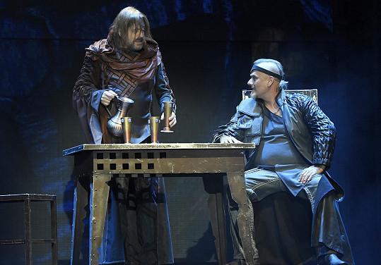 S Bohoušem Josefem zkouší v Divadle Broadway.