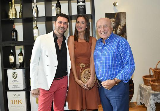 Povídali jsme si v novém podniku Domenica Martucciho, u kterého byli před časem na dovolené.