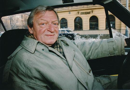 Martin Růžek byl oblíbeným českým hercem.
