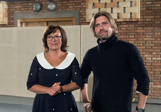 Kateřina Cajthamlová a Petr Čadek