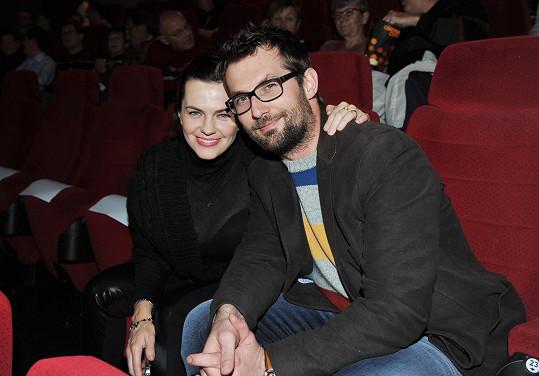 Marta Jandová s manželem Mirkem Vernerem