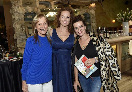 S autorkou a spolukmotřičkou Martou Jandovou