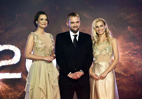 Diana s Liborem Boučkem a Danielou Písařovicovou