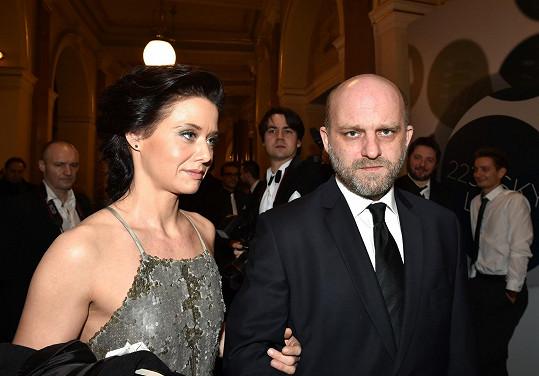 Hynek Čermák s partnerkou Danielou