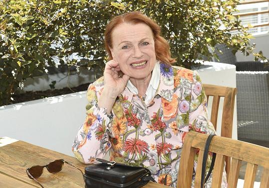 Iva Janžurová už má po oslavách osmdesátin.