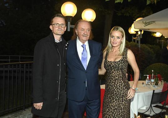 S dospělými dětmi Filipem a Alicí