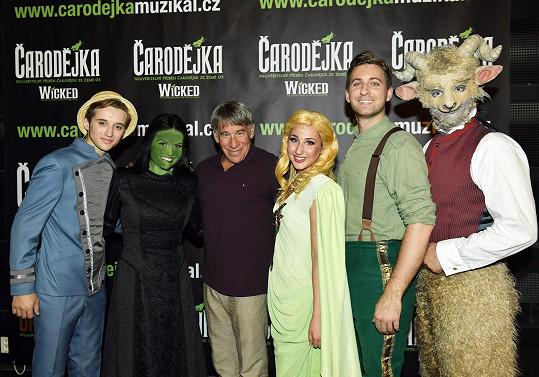 Představení muzikálu Čarodějka jsou kvůli koronaviru zrušena.