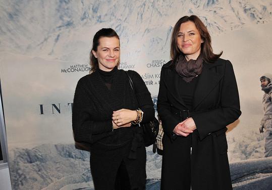 S Martou Jandovou na premiéře filmu Interstellar