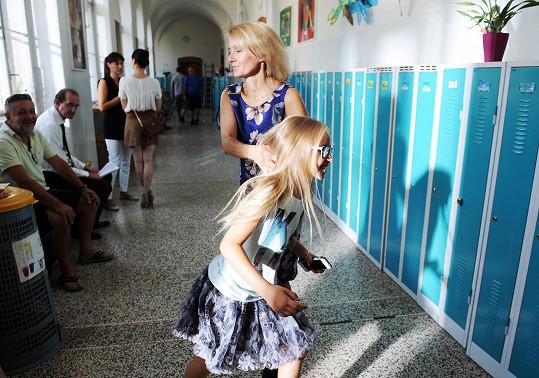 Natáčení si Žilková s dcerou užily.
