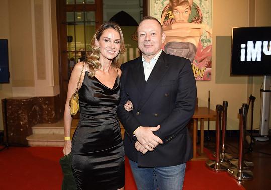 S manželem Michalem Dvořákem