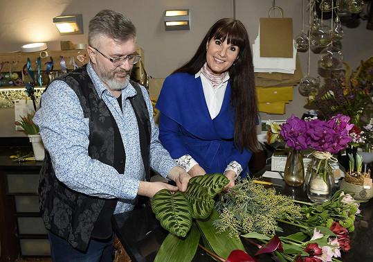 Se známým českým floristou Pavlem Hruškou