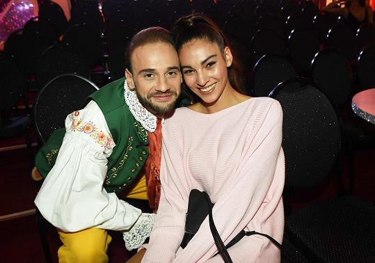 I Michal Necpál měl v publiku přítelkyni, budoucí herečku Sáru.