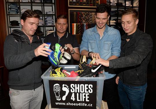 Projekt podporují i čeští fotbalisté.