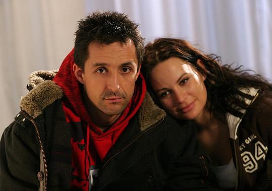 Zahrál si i po boku Jitky Čvančarové (2006).