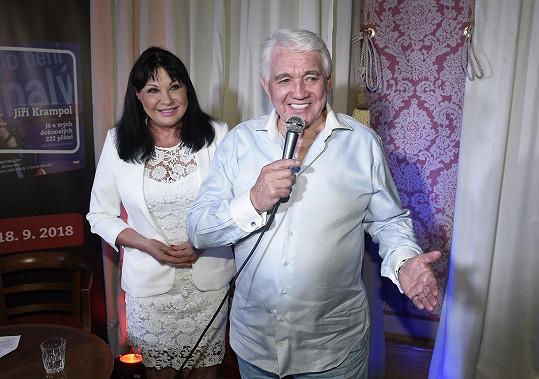 Jiří Krampol s Dádou Patrasovou