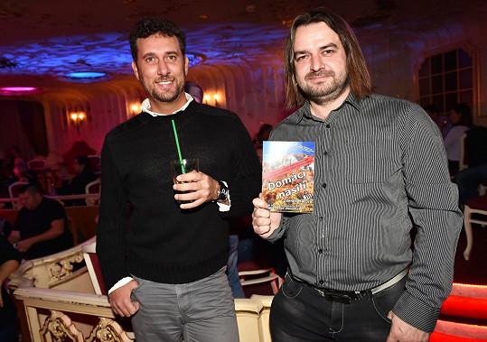 Zdeněk Macura (vpravo) s dalším ex Ivety Domenicem Martuccim