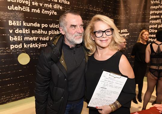 Výstavy se zúčastnil i režisér Jaroslav Brabec.