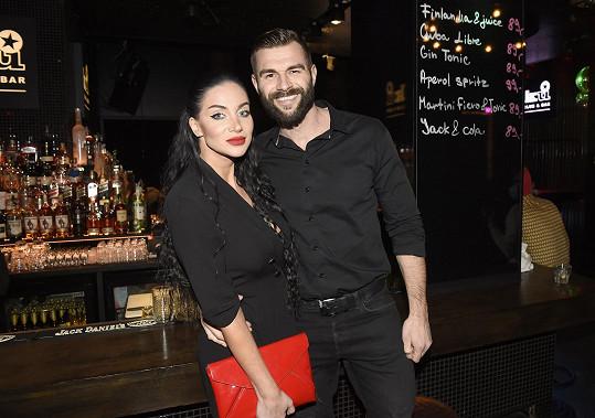 Andrea s přítelem Petrem