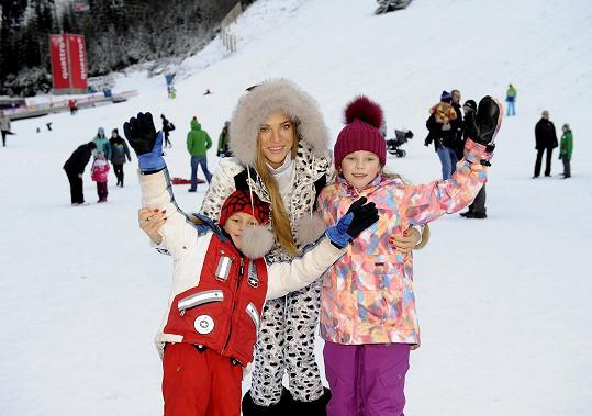 Andrea s dětmi