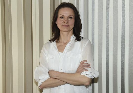 Spoty k Českému lvu natáčela herečka v únorových mrazech.