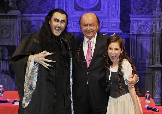 S představiteli hlavních postav Marianem Vojtkem a Natálií Grossovou