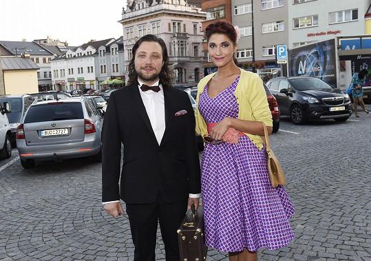 Felix mladší se snoubenkou Míšou