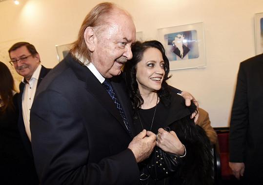 Setkala se i s Františkem Janečkem, s nímž má také za sebou spolupráci.