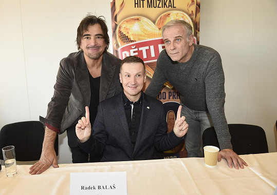 s režisérem Radkem Balašem.