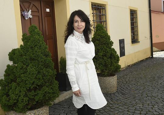 Nela Boudová už se na natáčení těšila.