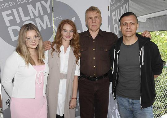 S částí tvůrčího týmu filmu Cesta domů režiséra Tomáše Vorla